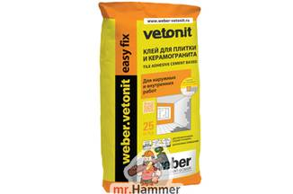 Клей Weber.Vetonit Easy Fix
